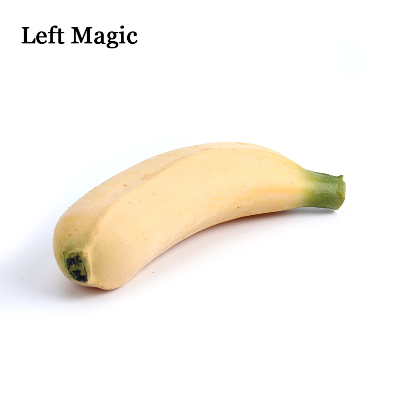 Rubber Fake Banana From Empty Hand Imitation Vanishing Appearing Banana Magic Tricks Stage Gimmick Props Illusion Comedy