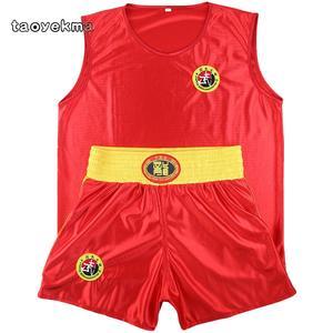 Muay Thai Boxing Kicking Box Mma Shorts Tank Tops Pantalones Corto Sanda Wushu