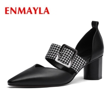 ENMAYLA  Pointed Toe   Slip-On  Womens Shoes  Pumps  Pumps  Italian Shoe and Bag Set for Party In Women Size 34-39 ZYL1990 th16 50 free shipping high quality lady italian matching shoes and bag set for wedding and party in wholesale