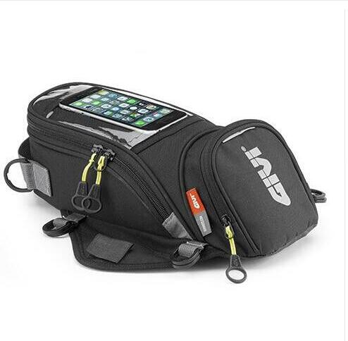 Motorcycle new fuel bag mobile phone navigation bag multifunctional small oil reservoir package magnetic fixed straps fixed givi depo üstü çanta