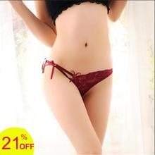 micro thong sexy womens female underwear T-shorts