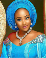 New Design Silver Gold Beads Jewelry Set Women African Fashion Jewelry Accessory Nigerian Wedding Beads Set