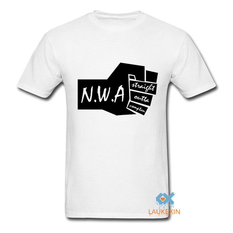 NWA Straight Outta Compton Men T Shirt Worlds Most Dangerous Group Ice Cube Dr Dre N.W.A ...