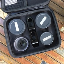 4 in 1 Cell Phone Camera Lens Kit Wide Angle Telephoto lens Macro  Fisheye Lenses for iPhone Xs Max X 8 Huawei P20 Pro Samsung