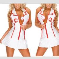 Nurses Uniform Erotic Set Sexy Cosplay Lady Uniforms Lingeries Body Suit Porn Lingerie Apparel Dress Sex