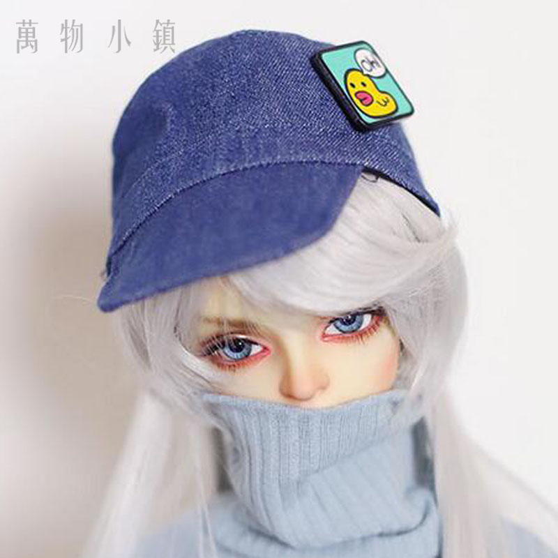 Faithful New Bjd Doll Wig Accessories Love Hat Blue Little Duck Baseball Cap 1/3 22-24cm Sd Bjd Doll Accessory Curing Cough And Facilitating Expectoration And Relieving Hoarseness Toys & Hobbies Dolls Accessories