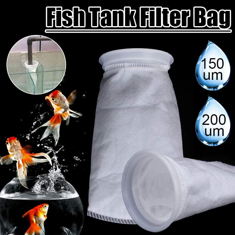 Новинка 150/200 микрон фильтр носок 105X230mm для аквариума, морской поддон, войлок, предварительно фильтр, носок, мешок, высокая плотность, интерпр...