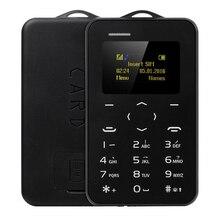 Новый мини телефон aiek/aeku c6 цветной экран pk m5 сотовый телефон ультра тонкий дети мобильный телефон низкая радиация gsm bluetooth