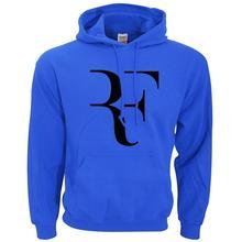 2019 New Brand Roger Federer RF Mens Hoodies Slim Hooded Unisex Sweatshirts Men Coats Male Casual Fleece Autumn Warm Sportswear