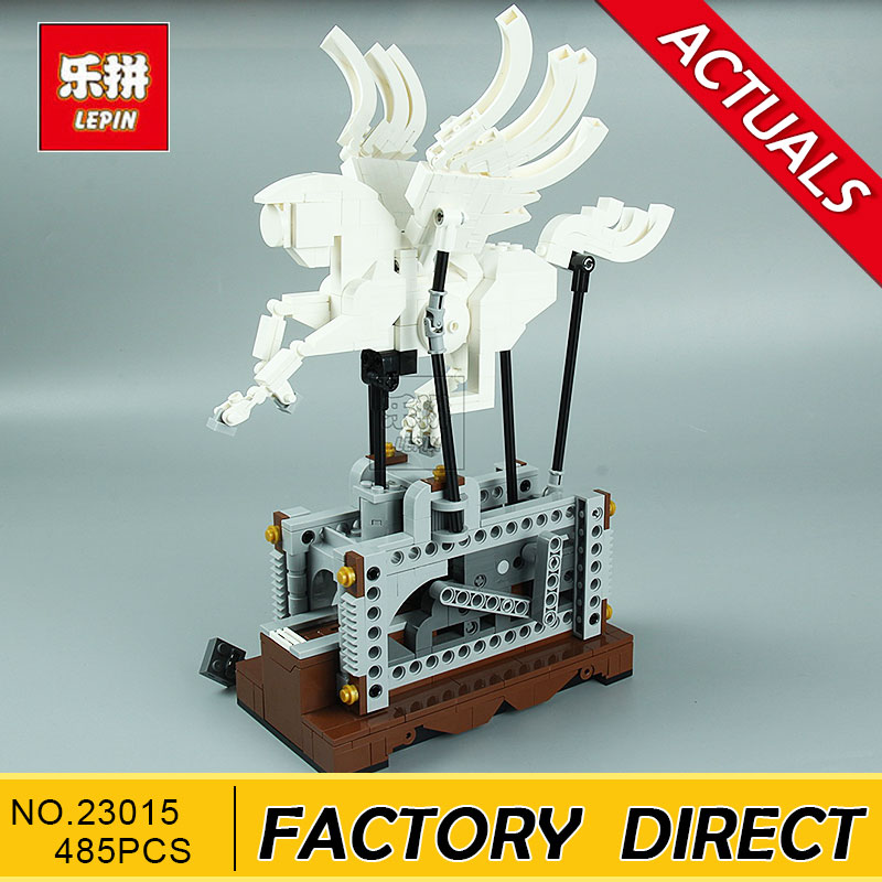 LEPIN 23015 485Pcs Technic Series The Pegasus Automaton Mechanical Flying Horse Building Blocks Bricks Pegasus Toys for Children wange mechanical application of the crown gear model building blocks for children the pulley scientific learning education toys