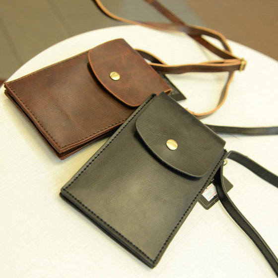 09e1e84e40575 Korea style Men messenger bags Small Shoulder bag for man Vintage Men s Leather  bags Mini bag OX027-in Crossbody Bags from Luggage   Bags on Aliexpress.com  ...