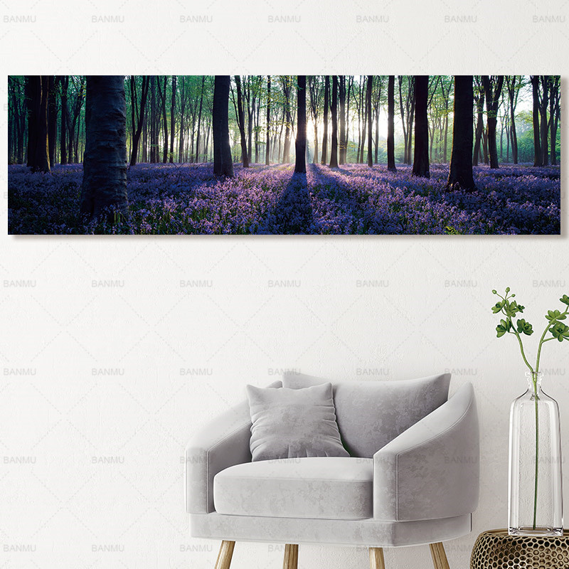 Art canvas painting Picture Forest wall picture art print canvas posters picture art Painting landscape art home decor wall