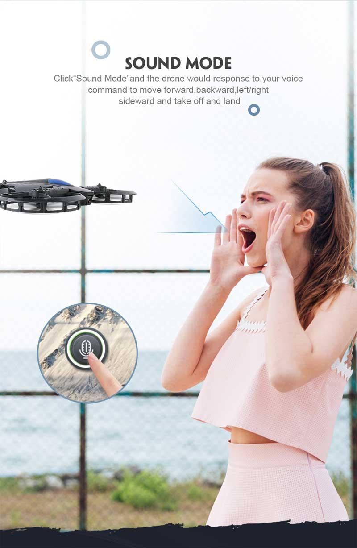 Drone USD Geformt Quadcopter 3