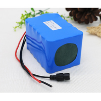 KLUOSI 12V Battery High Power 3S8P 11.1V12.6V20Ah Lithium ion Battery Pack with 60A Balance BMS for Inverter /Sightseeing Car