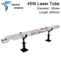 45W Dragon Diamond Co2 laser tube 50mm diameter 800mm length laser tube 45w for CO2 Laser Engraving Cutting Machine