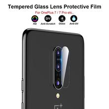 2.5D Cellphone Back Lens Cover Protector For one plus 6T/7 Pro 9H Hardness Tempered/Toughened Glass Screen Protective Film
