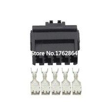 10 PCS DJ7051A-4.8-21 5-hole 5-pin car connector with terminal air docking