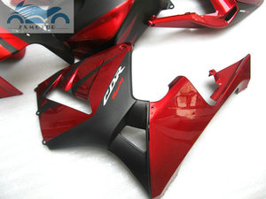 Image 5 - ABS plastic Injection fairing kit fit for Honda CBR600RR 03 04 CBR 600 RR 2003 2004 aftermarket  fairing kits red black NY04