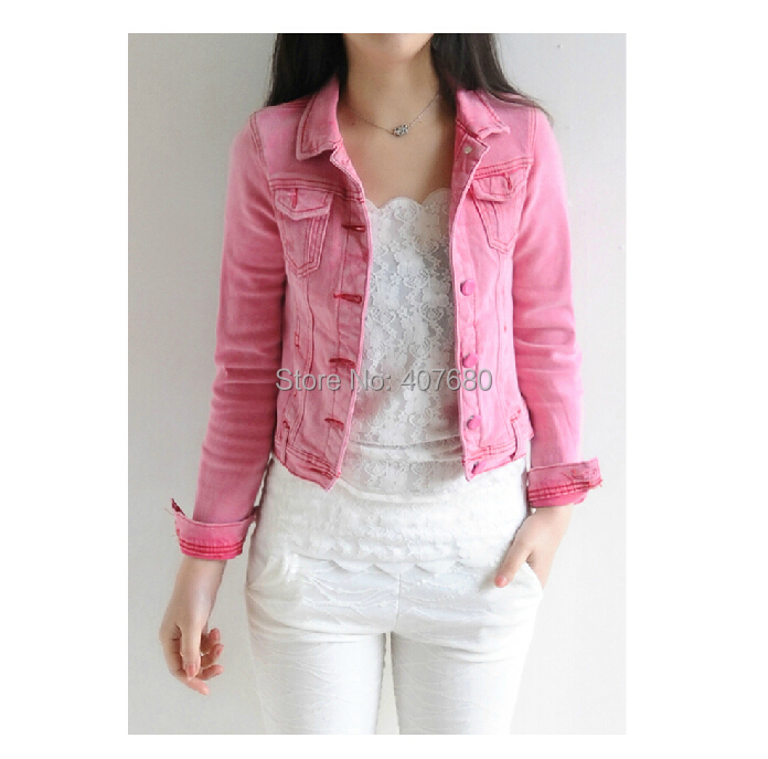 Short Pink Jacket - JacketIn