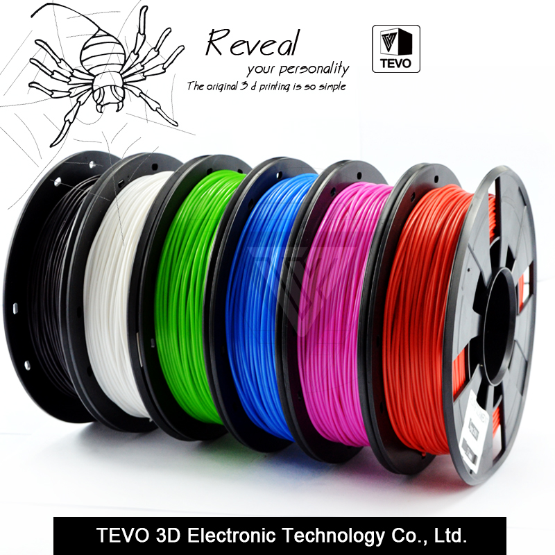 3D filament PLA filament 1 75 Multi colors 1KG plastic spools filament 1 75mm 3D printer