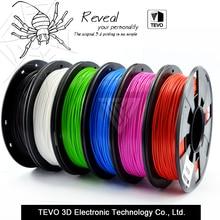 3D filament PLA filament 1.75 Multi-couleurs 1 KG en plastique bobines filament 1.75mm 3D imprimante filament impressora 3D filamento