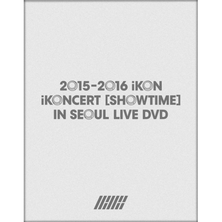 IKON - 2015 2016 IKONCERT SHOWTIME IN SEOUL LIVE  + IKON Paper Holder + 1 Sheet of Sticker + 160p Photobook  2016.6.21 KPOP tvxq special live tour t1st0ry in seoul kpop album