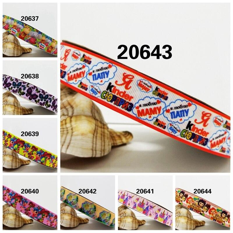 Бесплатная доставка 2016 новое поступление ленты аксессуары для волос лента 10 ярдов Печатный корсаж ленты 20637