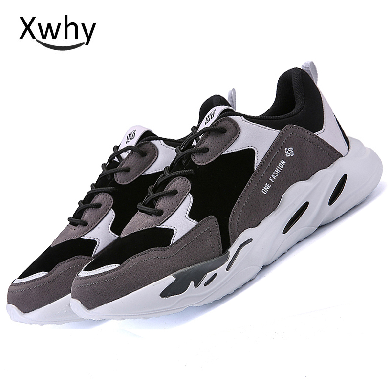2018 New Arrival Sport Sneakers running shoes Sport Men Shoes Lace Up Training Sneakers Athletic Sneakers Runners ...