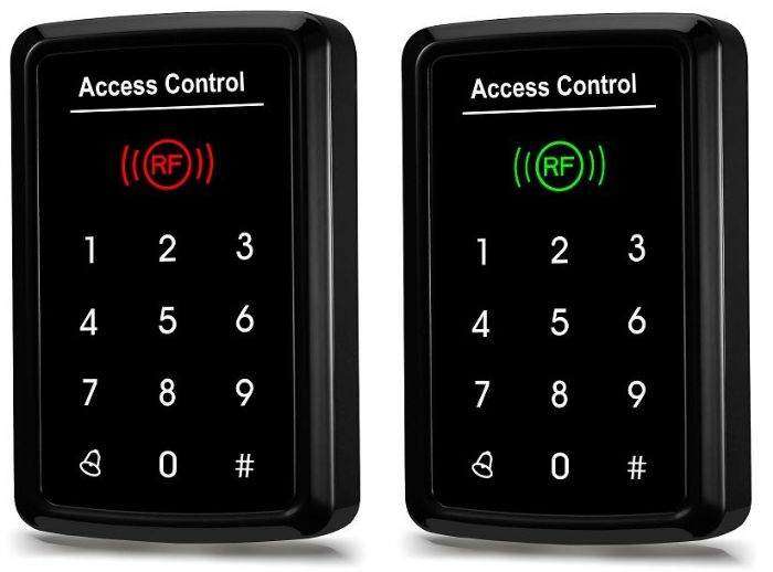ФОТО New Arrival Touch Keyboard Access Control/EM card support/1000 user/Can Connect Wiegand Reader