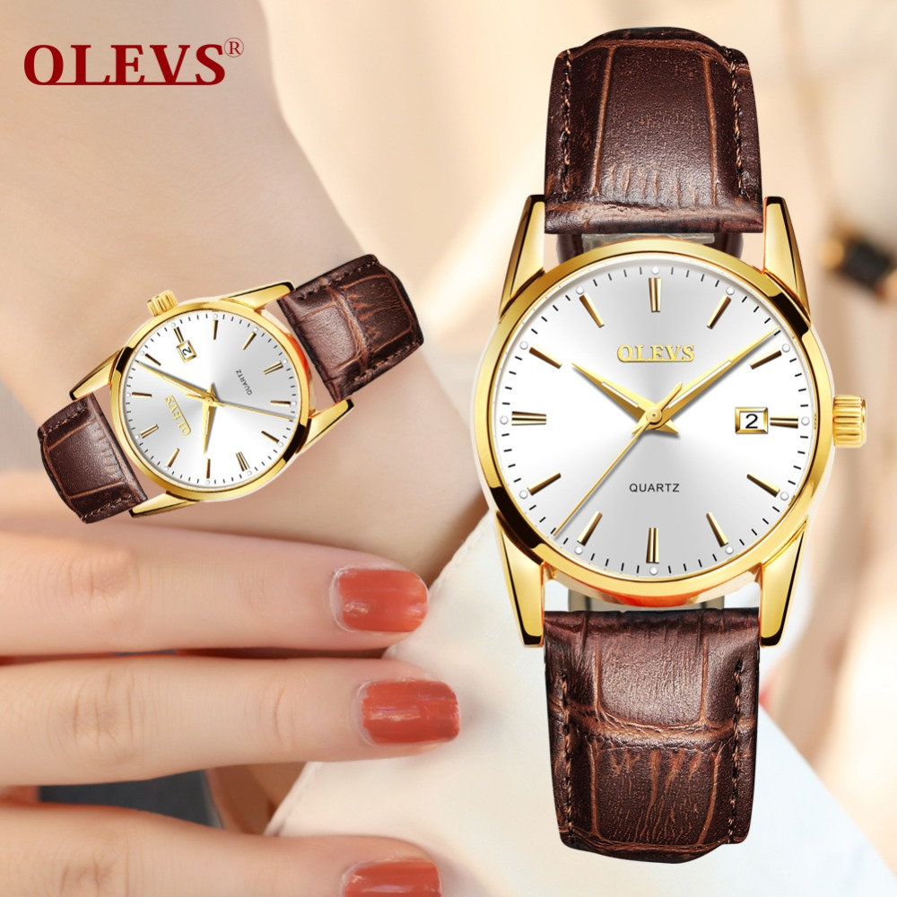 2018 Woman Watch Fashion Luxury Ladies Quartz Wristwatch Top Brand Leather Band Watch Women Watches Ladies Dress Reloj Mujer NEW
