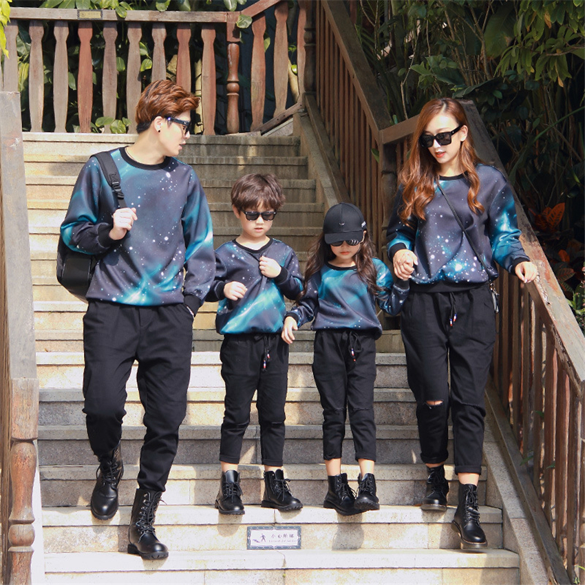 Family Matching Clothes Fall Fashion Color Outdoor Mother and Daughter Clothes Camouflage Autumn Family Look Christmas Pajamas