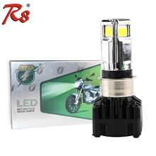 Universal RTD Motorcycle LED Headlight Bulb M02D H4 HS1 BA20D P15D H6 3000LM 30W For Motorbike 3COB 6000K DC 9-18V White