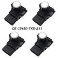 4PCS 39680-TK8-A11 WHITE PDC Parking Sensor Reverse Assist for Honda 188300-7970 39680-TK8-A11-A0