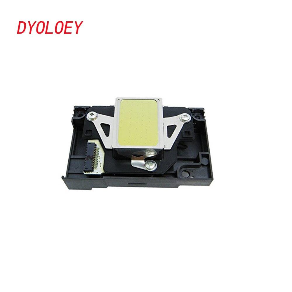 DYOLOEY F180000 Tête D'impression pour Epson R280 R285 R290 R295 R330 RX610 RX690 PX660 PX610 P50 P60 T50 T60 T59 TX650 l800 L801 Impression