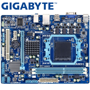 GIGABYTE GA-78LMT-S2 Desktop Motherboard 760G Socket AM3 / AM3+ DDR3 16G Phenom II/Athlon II Micro ATX UEFI BIOS Original Used