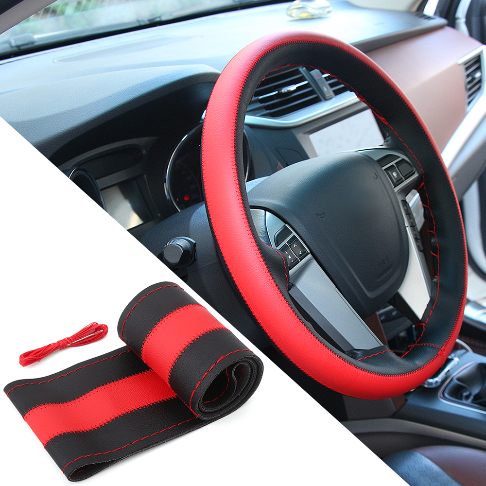 Car Diy Steering Wheel Covers For Nissan X Trail Qashqai Toyota Skoda Rapid Fuse Box Camry Rav4 Corolla Superb Auto Accessories In From Automobiles