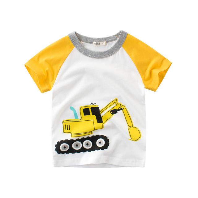 Camiseta con estampados divertidos