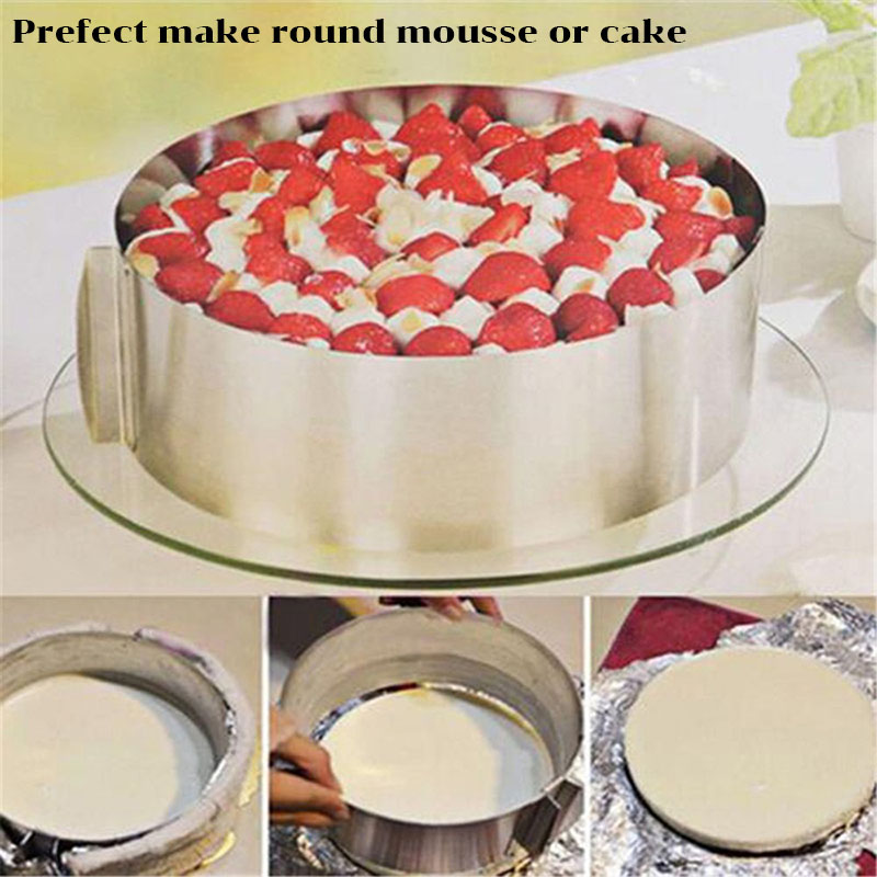 TEENRA-2Pcs-Round-Square-Mousse-Ring-Retractable-Stainless-Steel-Cake-Mold-Adjustable-Mousse-Ring-Circle-Baking (5)