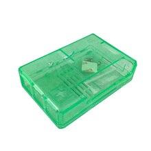 Raspberry Pi 3 Model B ABS Case Green / Transparent Box Compatible For Raspberry Pi 2 Model B / B+