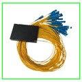 Venta caliente PLC splitter 1X8 1.5 M SC/APC Amarillo utilizado para el sistema de FTTH