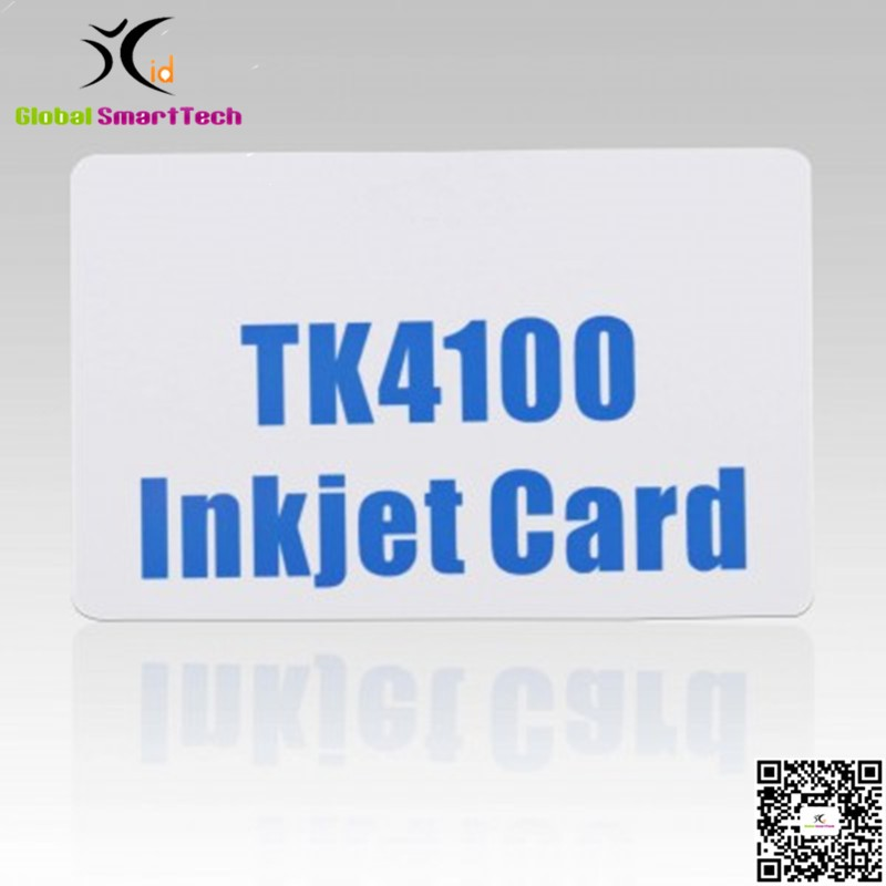 RFID 125KHZ TK4100 INKJET ID PVC CARD for epson canon ink jet printers-in Access Control Cards from Security & Protection