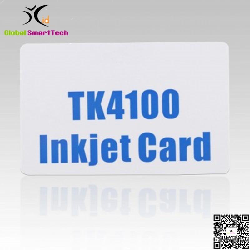 RFID 125KHZ TK4100 INKJET ID PVC CARD For Epson Canon Ink Jet Printers