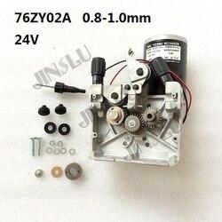 76ZY 02A Mig silnik podajnika drutu podajnik DC24 0.8 1.0mm 2.0 24 m/min 1PK MIG MAG SPAWARKA JINSLU w Spawarki MIG od Narzędzia na