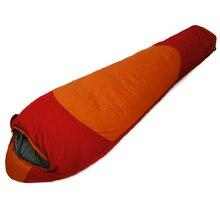 POINT BREAK CY-2010 1800G Outdoor Camping Hiking Winter Mummy Type Down Sleeping Bag Waterproof Splicing Single Sleeping Bag