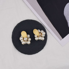 2019 Fashion New Best Selling Simple Imitation Pearls Drop Earrings White Simulated Pearl Dangle Brincos For Women Jewelry Gift fashion pearl earrings hot selling new style retro noble women 3 circle white simulated dangle earrings