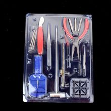 16pc Watch Back Opener Repair Tool Kit Band Pin Strap Link Remover Watchmaker цена и фото