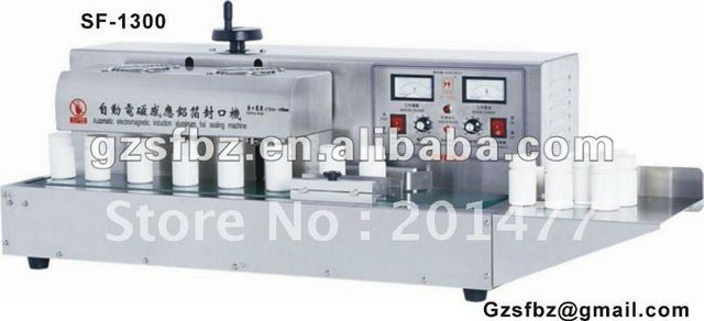 SF-1300 Automatic vertical bottle sealing machine