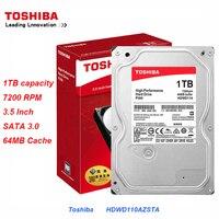 Toshiba HDWD110AZSTA 1 TB 3.5 Internal Hard Drive SATA 3.0 7200RPM 64 MB Cache P300 Series Hard Drive Disk for Desktop PC