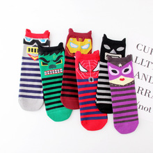 happy socks women funny animal Cartoon trend personality Fashion school girls favorite spring autumn