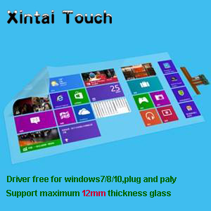Xintai Touch 20 punti 52 pollici interactive stagnola di tocco trasparente/pellicolaXintai Touch 20 punti 52 pollici interactive stagnola di tocco trasparente/pellicola